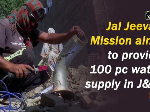 Jal Jeevan Mission aims to provide 100 pc water supply in JandK