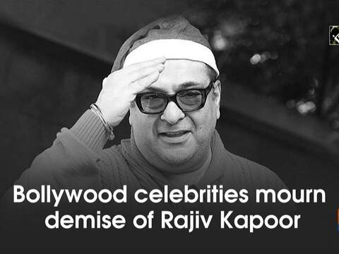 Bollywood celebrities mourn demise of Rajiv Kapoor