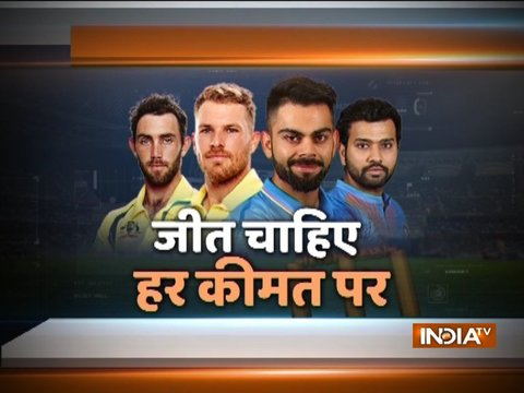 India vs Australia, 1st T20I: Virat Kohli wins toss, opts to bowl