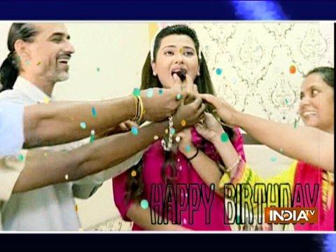 Kasam actress Kratika Sengar celebrates her birthday on sets