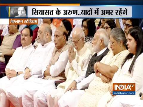 Arun Jaitley Prayer Meet: Sharad Pawar, D Raja and others pays tribute to former Union Minister