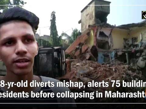 18-yr-old diverts mishap, alerts 75 building residents before collapsing in Maharashtra