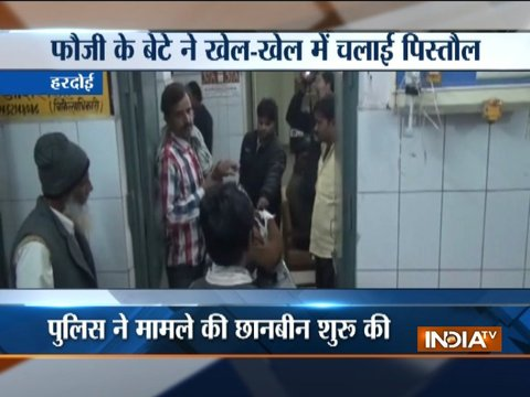 UP: Minor girl accidentally shot at by younger brother in Hardoi