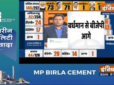 Bengal Poll Results: BJP leader Suvendu Adhikari leading over his TMC rival Mamata Banerjee
