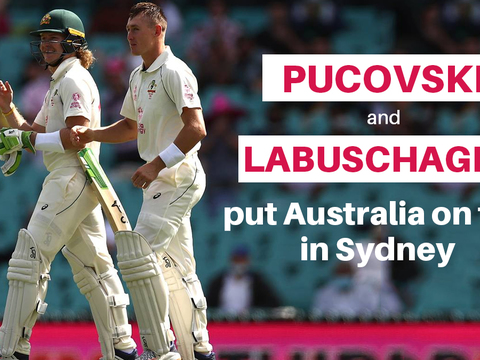 AUS vs IND: Will Pucovski, Marnus Labuschagne put Australia on top at SCG