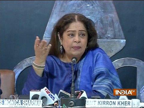 Kirron Kher: Victim should not have boarded autorickshaw when 3 men were already inside