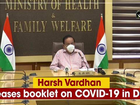 Harsh Vardhan releases booklet on COVID-19 in Delhi