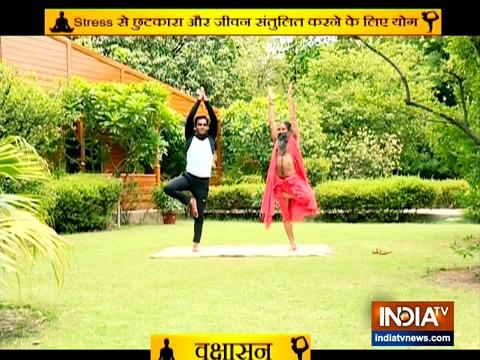 Yoga asanas to get rid of stress