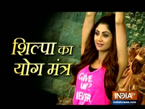 Shilpa Shetty shares the importance of Yoga in her life
