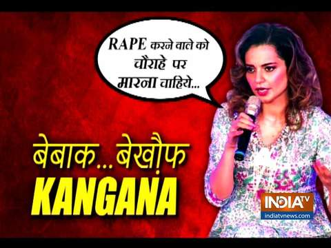 Kangana Ranaut expresses opinion about Nirbhaya gang-rape case