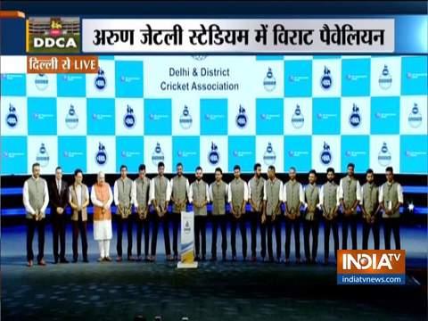 DDCA honours Indian cricket team