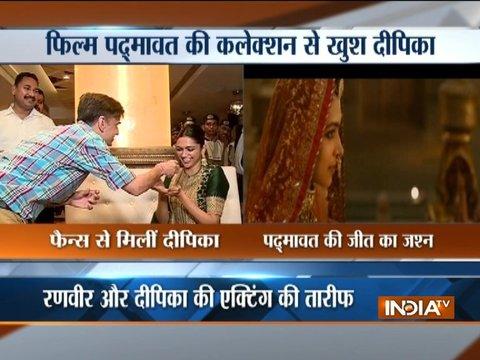Deepika Padukone celebrates 'Padmaavat' release with her mesmerising smile