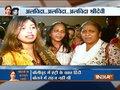 Fans gather outside Sridevi's residence in Mumbai