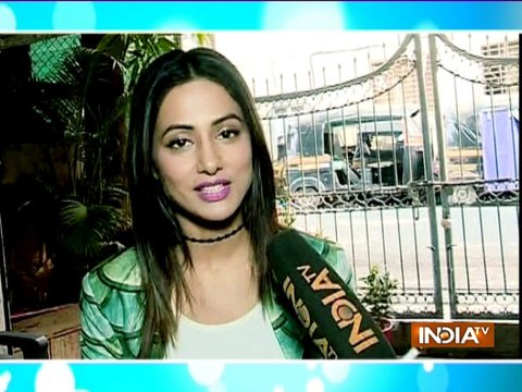 Bigg Boss runner-up Hina Khan celebrates Republic Day with kids