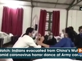 Watch: Indians evacuated from China's Wuhan amid coronovirus horror dance at Army camp