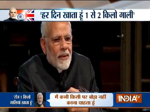 PM Modi reveals secret of his stamina