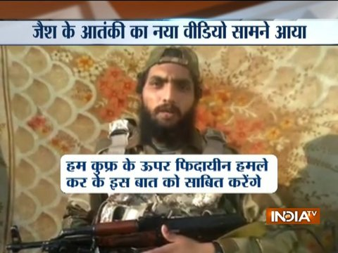 Jaish-e-Mohammad terrorist threatens of fidayeen attack on India
