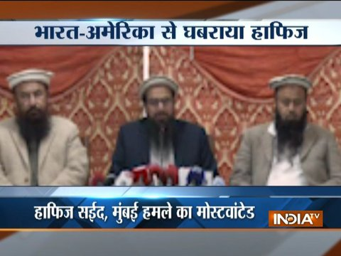 JuD chief Hafiz Saeed warns India to stay away from Israel