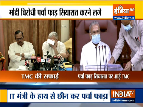 Ground Report | TMC comes with clarification after paper snatched from IT Minister Ashwini Vaishnaw