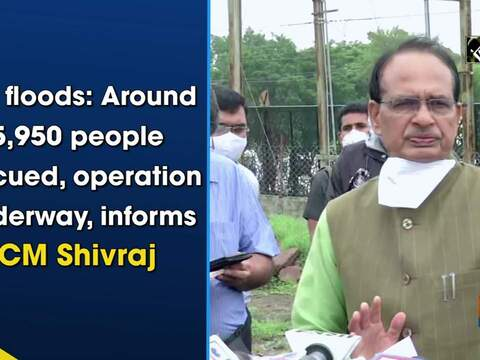 MP floods: Around 5,950 people rescued, operation underway, informs CM Shivraj