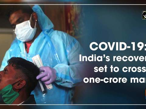 COVID-19: India's recoveries set to cross one-crore mark