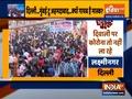 People violating Social distancing norms in delhi amid festive season