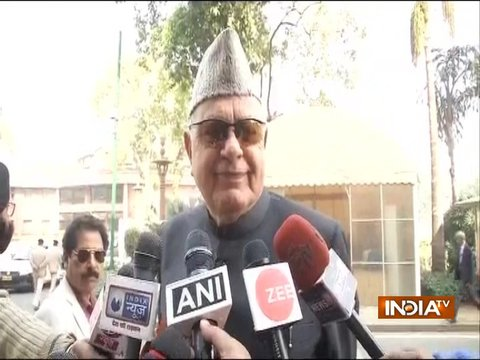 India does not belong to Vinay Katiyar's father, says Farooq Abdullah