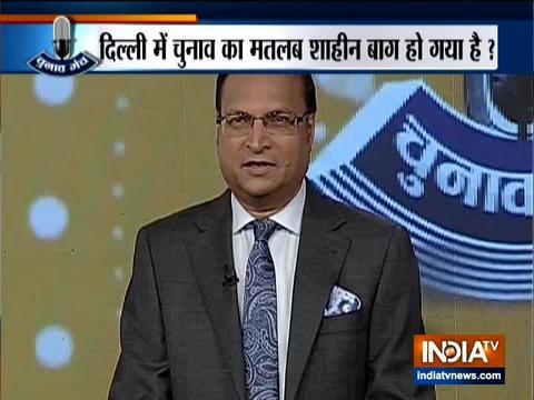 इंडिया टीवी के एडिटर-इन-चीफ रजत शर्मा ने किया चुनाव मंच का आगाज़