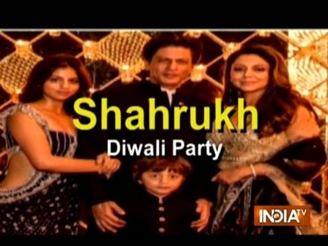 Inside Shah Rukh Khan's Star-Studded Diwali Party