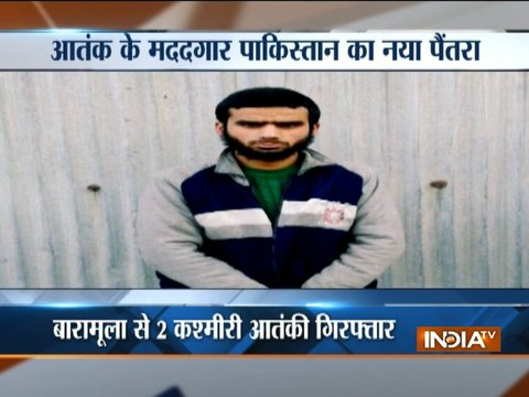 Two Pak-trained LeT terrorists arrested in Kashmir