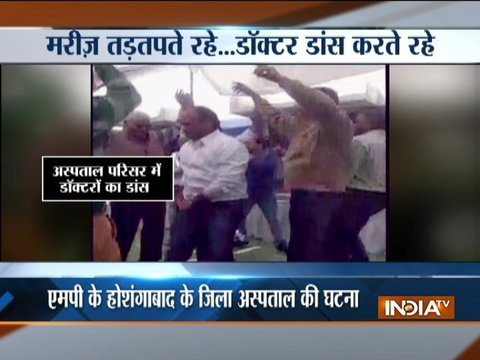 Patients suffer as doctors enjoy dance party at trauma centre in MP