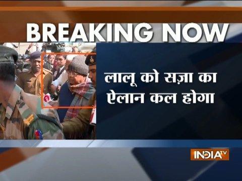 Fodder scam case: Lalu Yadav to be sentenced by CBI court tomorrow