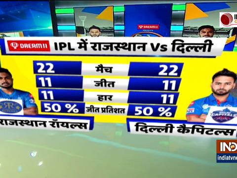 RR vs DC : राजस्थान रॉयल्स ने टॉस जीतकर लिया गेंदबाजी करने का फैसला