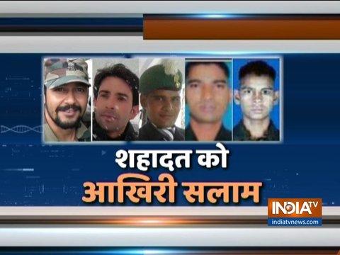 पुलवामा मुठभेड़ में मेजर सहित 5 जवान शहीद, जैश ए मोहम्मद कमांडर समेत 3 आतंकवादी ढेर