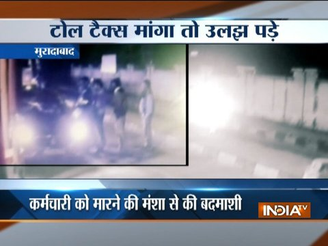 Toll booth worker beaten-up for asking toll in Moradabad