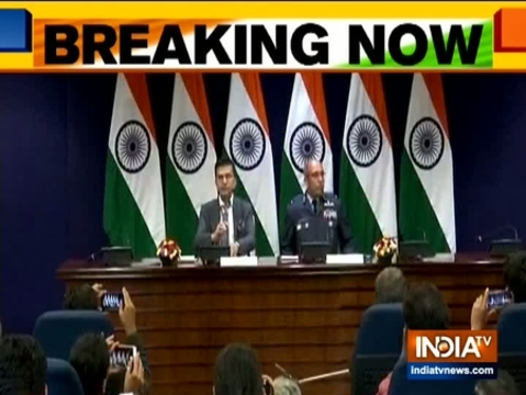 Today we managed to foil the terror act by Jaish, shot down one Pak aircraft: MEA