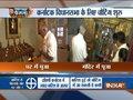 BJP leader BS Yeddyurappa performs puja at his residence ahead of Karnataka Assembly Polls