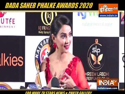 Here's a glimpse of what happened at the Dada Saheb Phalke Awards 2020