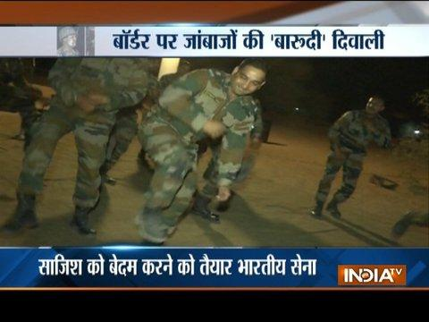 This is how Indian soldiers at the border celebrate Diwali