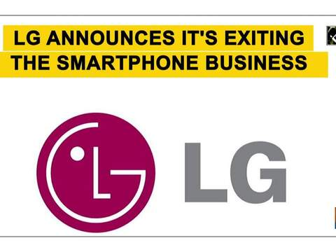 LG announces it's exiting the smartphone business