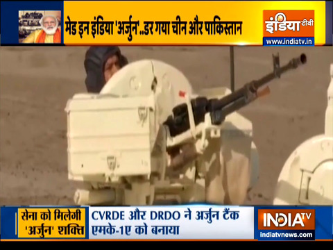 Prime Minister Narendra Modi  to dedicate Arjun tank to the nation on Sunday