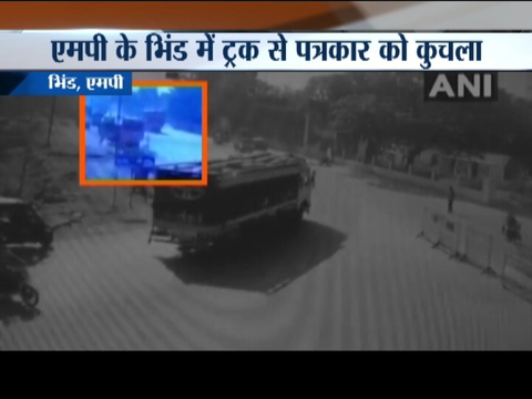 MP: Journalist crushed to death by sand mafia's truck in Bhind