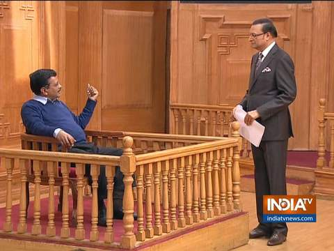 Arvind Kejriwal in Aap Ki Adalat (Full Episode)
