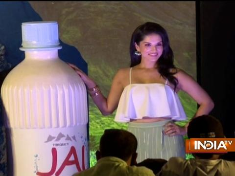 Sunny Leone launches 'Jal' Natural Mineral Water
