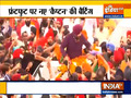 Navjot Singh Sidhu gets a grand welcome in Amritsar