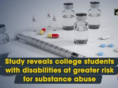Study reveals college students with disabilities at greater risk for substance abuse