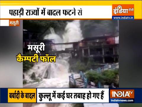 IMD warns of very heavy rainfall over Himachal Pradesh, Uttarakhand till July 30