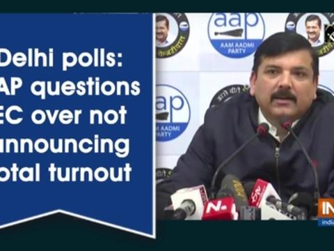 Delhi polls: AAP questions EC over not announcing total turnout