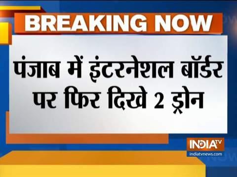 पंजाब के फिरोजपुर सेक्टर में दिखाई दिए 2 ड्रोन, बीएसफ ने शुरू की जांच