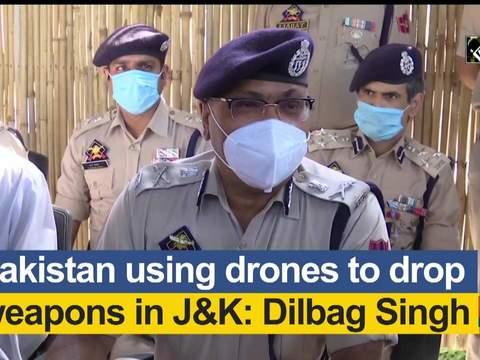 Pakistan using drones to drop weapons in JK: Dilbag Singh